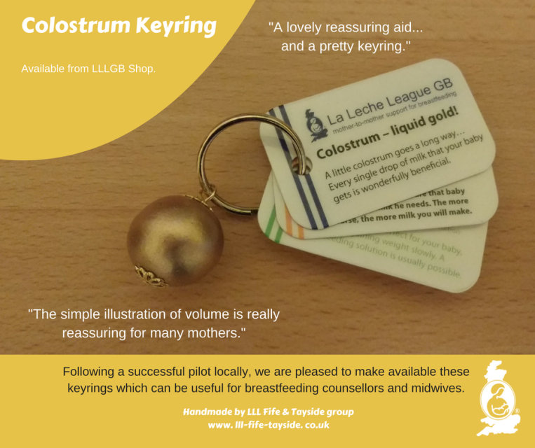 birmingham hypnobirthing courses pregnancy relax class la leche league LLL keyring gift